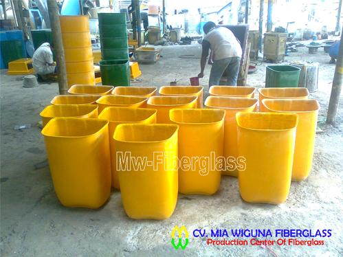 jual tong sampah pilah model oval